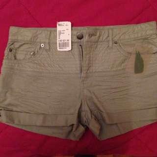 Gray Shorts Size 26