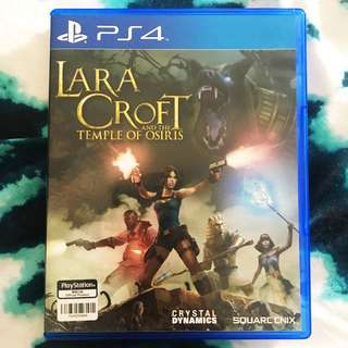 LARA CROFT and the Temple Of Osiris PS4