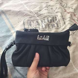 Katehill black pouch