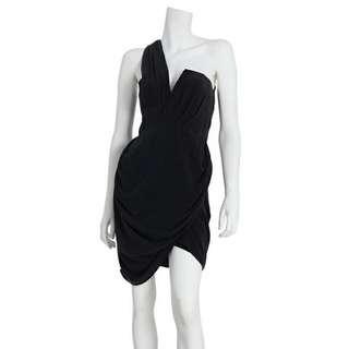 Zimmerman Silk Asymmetric Drape Dress