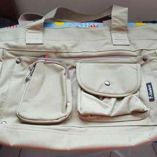 F. timber Tote Bag