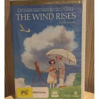 The Wind Rises - Hayao Miyazaki - Ghibli Studio - DVD