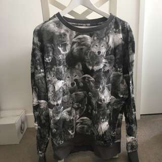 Insight Animal Print Jumper