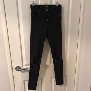 Bardot High Waisted Skinny Jeans