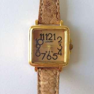American Apparel Cork Watch