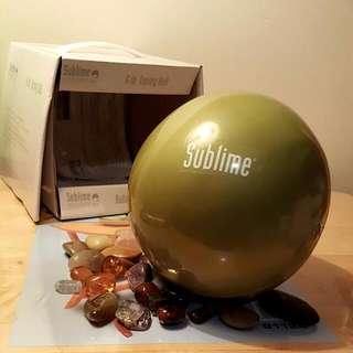 NEW 6lb Sublime Medicine Ball
