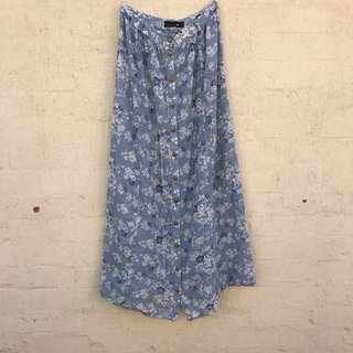 Azuki Floral Maxi Skirt