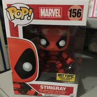 Funko Pop Marvel Deadpool - Stingray (Hot Topic Exclusive)