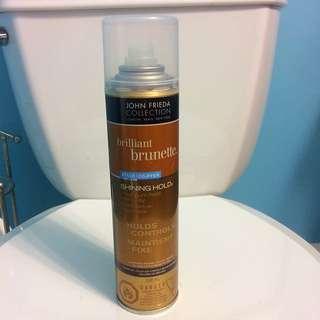 John Frieda Collection - Brilliant Brunette Maximum Hold Hairspray