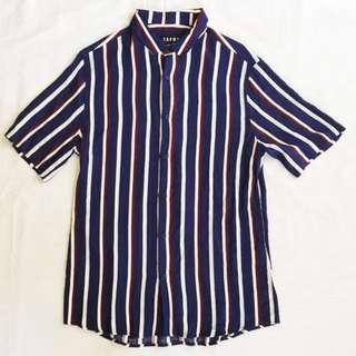 🌟SPECIAL OFFER🌟TOPMAN Viscose Stripe Shirt