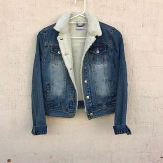 Luck & Trouble Lined Denim Jacket