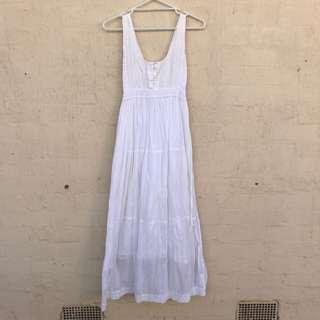 Peace Angel Cotton Lace Maxi Dress