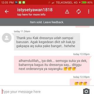 MY lovely cust testimonial 😘😘, thank you say...