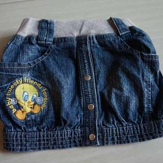 Rok Jeans Size 12 Bulan