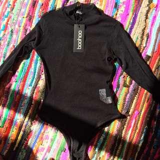 Mesh Bodysuit Size 10