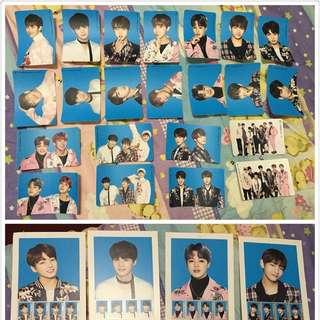 BTS WINGS郵票、貼紙組 拆售