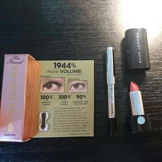 Too Faced Mascara And Marc Jacob Samples