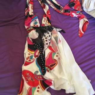 Emanuella Dress Size Xs Colourful
