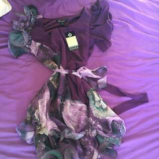 Gasp Dress Size 8 Bnwt