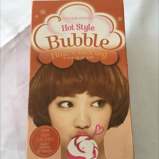 Etude House Bubble Hair Coloring OR 08 Sweet Orange