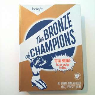 Benefit 'The Bronze Of Champions'- Total Bronze Kit For Eyes, Lips & Cheeks