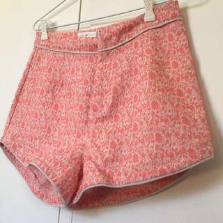 Quirky Circus Pattern Shorts
