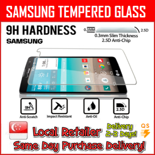 Tempered Glass 9H Samsung Series