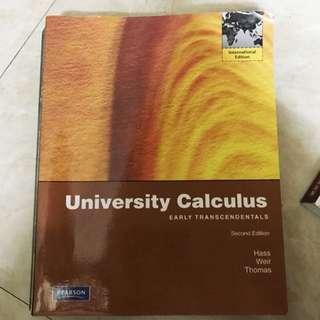 University Calculus  #微積分