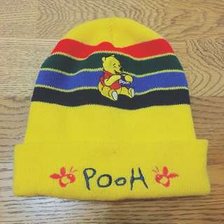 小熊維尼POOH毛帽