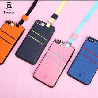 Pink Lanyard Iphone 7 Case