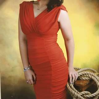Simply Red Dress