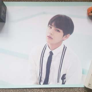 BTS 3rd Muster Posters + Wings official Posters (Jin, Taehyung, Rap Monster, J-Hope)