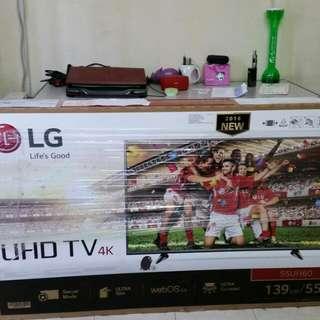 LG 4K UHD 55 inches Smart TV