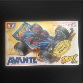 Tamiya Mini 4wd Avante Blue
