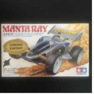 Brand New Tamiya Mini 4wd Manta Ray