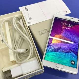 Samsung Note4 旗艦白 LTE