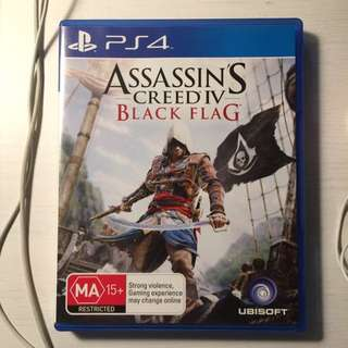 ASSASSIN'S CREED IV - BLACK FLAG (PS4)