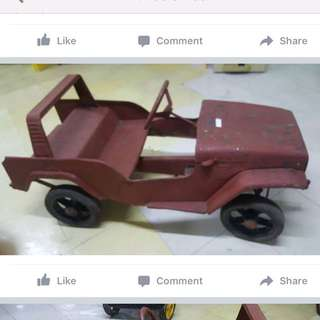 Toyota Cruiser Pedal Car