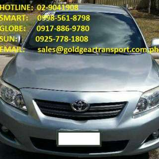 Goldgearides Rent A Car