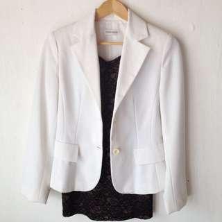 Terranova White Blazer