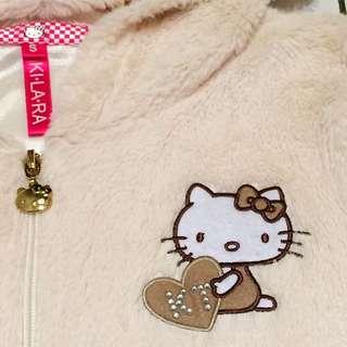 毛毛kitty正版Ki La La專櫃外套