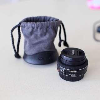 Canon 40mm STM