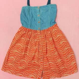 Gingersnaps Maong dress
