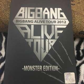 BIGBANG ALIVE TOUR 2012 DVD
