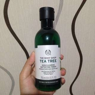 REPRICE the body shop tea tree skin clearing toner 250ml