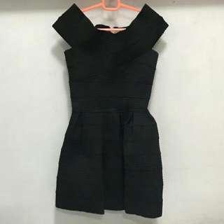 Black Textured Dress