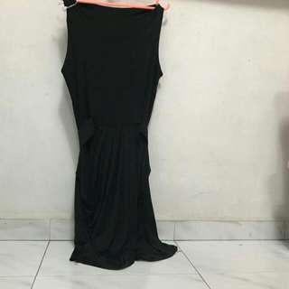 Black Elastic Dress