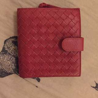 Authentic BOTTEGA VENETA Intrecciato Genuine Leather Bifold Wallet