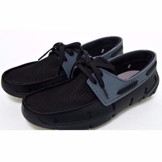 ✨半價✨【PONY】 Lohas boat系列全新時尚有型樂活鞋系列- 悠閒黑 (中性) 原價1980元