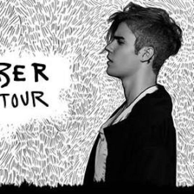 3x Justin Bieber Tickets